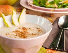 Körteleves 2db Panna Cotta, Pudding, Ethnic Recipes, Desserts, Food, Tailgate Desserts, Dulce De Leche, Deserts, Custard Pudding