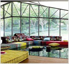 linge de maison design tissu coloré deco kenzo tendance id-Deco