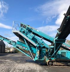 2011 Power Screen Chieftain 1400S Price: $139,000 Location: Rome, NY 13440 Model: 1400S w Hydraulic Vibratory Serial #: PID00066PD GC14272 Hours: 1251 Engine: Cat Diesel Power Weight: 55,000lbs Measures: W 9ft x L 56ft x H 10ft 6in Grizzly Head ($10,000) option DO YOU HAVE EQUIPMENT TO SELL? Reach millions of potential buyers and get the most out of your investment by listing IT with IRONMARTONLINE.com IT Stays Listed - Until IT Sells. Call today and Let's get IT Sold! 973-886-3020 Heavy Equipment For Sale, Heavy Construction Equipment, Trucks For Sale, Rome, Fighter Jets, Things To Sell, Rome Italy
