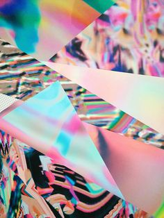 Psychedelic Holographic Art