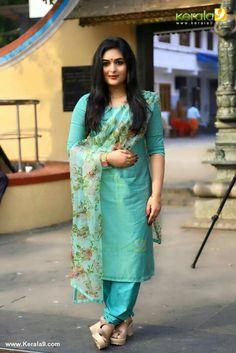 Prayaga Martin pics is part of Designer salwar suits - Churidar Designs, Kurta Designs Women, Blouse Designs, Indian Dresses, Indian Outfits, Stylish Dresses, Fashion Dresses, Indian Designer Suits, Kurti Designs Party Wear