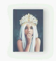Queen Hardcover Journals by hiba-tan Art Ideas For Teens, Art Projects For Teens, Hiba Tan, Queen Drawing, Kindergarten Art Projects, Art Deco Mirror, Valentines Art, Sad Art, Digital Art Girl
