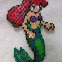 Little Mermaid Perler - Kingdom Hearts Style