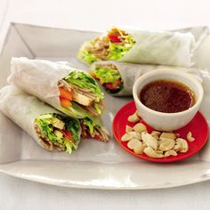 Summer Rolls with Marinated Tofu http://www.prevention.com/food/healthy-recipes/easy-tofu-recipes-for-every-meal/slide/16