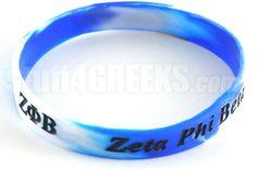 Zeta Phi Beta Wrist Band  Item Id: PRE-ZFB-BAND  Price:  $5.00