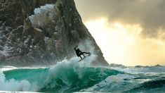 THE ICY SURF PHOTOGRAPHY OF CHRIS BURKARD