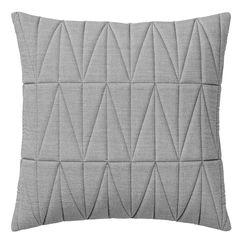 Quilted Pute 45x45 cm, Lys Grå Melange - Bloomingville - Bloomingville - RoyalDesign.no