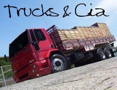 Várias fotos de carretas e caminhões rebaixados!   As Máquinas Pesadas