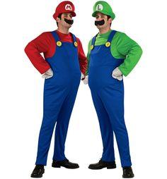 Super Mario and Luigi Couples Costume
