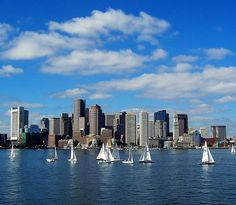 Boston Harbor  & Skyline