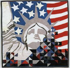 Freedom is Fragile by Velda Newman | Art of the Quilt