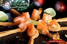 C'est une présentation originale que je vous propose pour ces feuilletés de saumon en amuse-bouches. Les cuillères de pâte feuilletée sont faciles à réaliser et conviennent parfaitement pour …