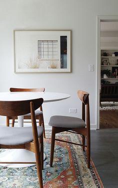 Wood table modern chairs mid century 37 ideas for 2019 Home Design, Mesa Saarinen, Interior Design Minimalist, Modern Design, Mid Century Chair, Dining Room Lighting, Retro Home Decor, Mid Century Modern Furniture, Midcentury Modern