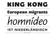 Karol Sans | Slanted - Typo Weblog and Magazine
