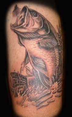 Bass Fish Tattoos Pictures
