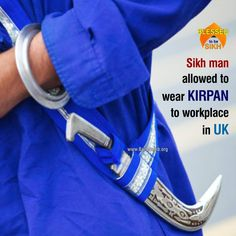 Sikh man allowed to wear Kirpan to workplace in UK A British Sikh man, working at an international telecom firm in the UK, has been given permission to wear kirpan to the workplace after initially being refused. Read More http://barusahib.org/…/sikh-man-allowed-to-wear-kirpan-to-…/ Great Victory for SIKHS who can practice their faith whilst at work