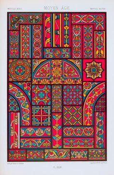 Moyen âge : XIIe, XIIIe et XIVe siècles : vitraux. ([188-?])