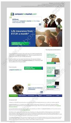 insurance marketing templates  21 best Email Design: Insurance images on Pinterest | Email design ...