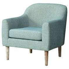 Winston Retro Chair  - Blue/Green - Christopher Knight Home
