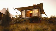 GLAMPING TENDE DI LUSSO TREEHOUSE ECO-LODGES