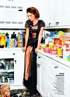 "Victoria Beckham in ""vb the real me"" by Pamela Hanson for Glamour USA, September 2012"