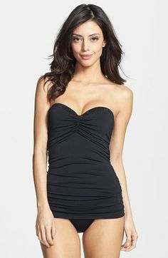 Carmen Marc Valvo 'Cape Town Beach' Underwire Molded One-Piece Swimdress available at #Nordstrom