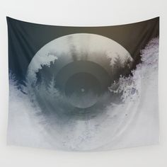 Forest lullaby Wall Tapestry. #photography #digital #digital-manipulation #color #vintage #forest #nature #lullaby #music #record #sound #wanderlust #original #forest-sounds #photo #vintage-record #forest-lullaby #forest-music #abstract-forest #digital-artwork #forest-artwork