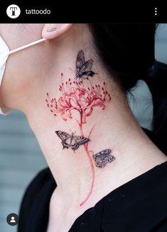 Red Ink Tattoos, Dope Tattoos, Anime Tattoos, Badass Tattoos, Pretty Tattoos, Mini Tattoos, Beautiful Tattoos, Body Art Tattoos, Small Tattoos