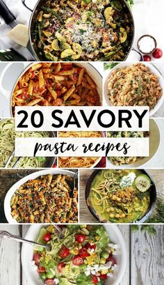 20 of the best pasta recipes for carb lovers. These savory dinner recipes need to go on your meal plan.