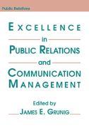 Título: Excellence in public relations and communication management / Autor: Grunig, James E. / Ubicación: Biblioteca FCCTP - USMP 1er Piso / Código: 659.2 E