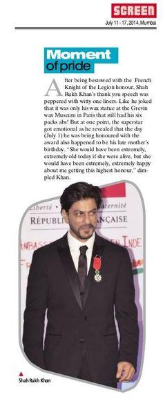 Embedded image permalink-SRK's moment of pride.