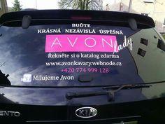 Moje pojízdná Avon reklama 😎