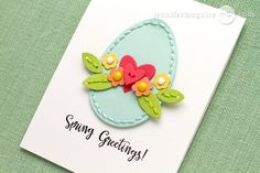 Stitching Felt Die Cut Tips + GIVEAWAY