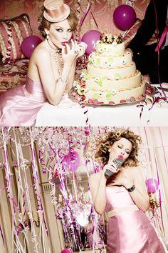 Kylie Minogue by Ellen Von Unwerth