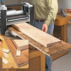 5 Essential Planer Secrets Woodworking Planer, Wood Planer, Essential Woodworking Tools, Learn Woodworking, Woodworking Techniques, Woodworking Furniture, Woodworking Crafts, Popular Woodworking, Wood Lathe