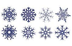 8 Free Snowflake Vectors Winter - Free Vector Site | Download Free Vector Art, Graphics
