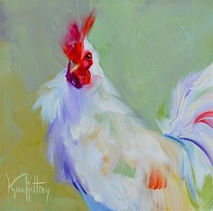 """Daily Paintworks - """"Bad Hair Day"""" - Original Fine Art for Sale - © Lynn Rattray"""