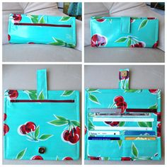 Oilcloth is a great material to sew with. It's more affordable than many of the cottons out there today and comes in a wide variety of fun patterns and colors. Unfortunately it can be a little bit stiff to work with, but this pattern for a cute wallet is perfect for oilcloth because you don't...  Read more »