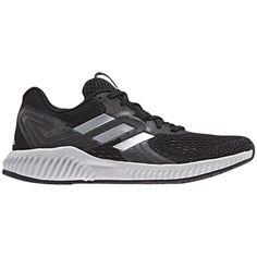 best sneakers 7943f 9bab8 Womens adidas Aerobounce (BlackSilver)