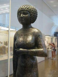 Detail of Takushit, princess of upper Egypt by 5telios, via Flickr