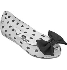 Melissa Ultragirl + Minnie Shoes Ballet Flat by Mini Melissa Melissa Jelly Shoes, Plastic Shoes, Peep Toe Flats, Clog Sandals, Disney Shoes, Ballet, Everything Baby, Polka Dot Print, Girl Birthday