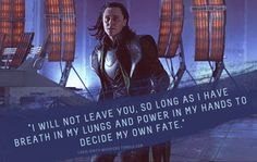 """Submission: """"I will not leave you, so long as I have breath in my lungs and power in my hands to decide my own fate."""""""