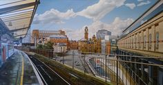 """""""View from Platform 13"""" - Nathan Walsh - Bernarducci Meisel Gallery"""