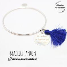 Bracelet JONC ANGUN Gravure sur mesure * Création personnalisée * : Bracelet par chimere-melancolique