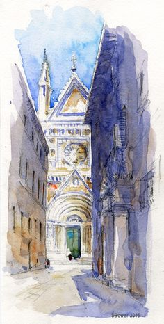 Urban Sketchers: More from Italy
