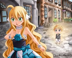 ImageFind images and videos about fairy tail, August and mavis vermillion on We Heart It - the app to get lost in what you love. Fairy Tail Lucy, Fairy Tail Ships, Fairy Tail Amour, Fairy Tail Girls, Fairy Tail Manga, Anime Fairy, Fairytail, Zeref Y Mavis, Jellal