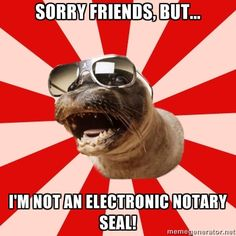 Electronic Notary Seal - Find a Notary