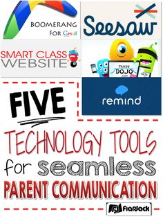 Five Technology Tools for Seamless Parent/Family Communication