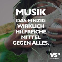 Musik das einzige wirklich hilfreiche Mittel gegen alles.
