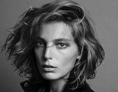 Daria Werbowy - Get A Wavy Bob Haircut